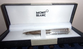 Bolígrafo Mont Blanc Con Estuche - Nuevo - Negociable