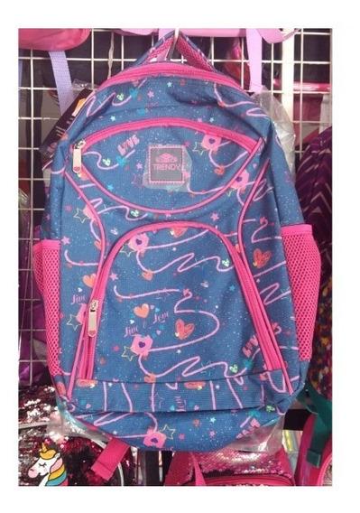 Mochila Infantil Nena Colegio Urbana Trendy