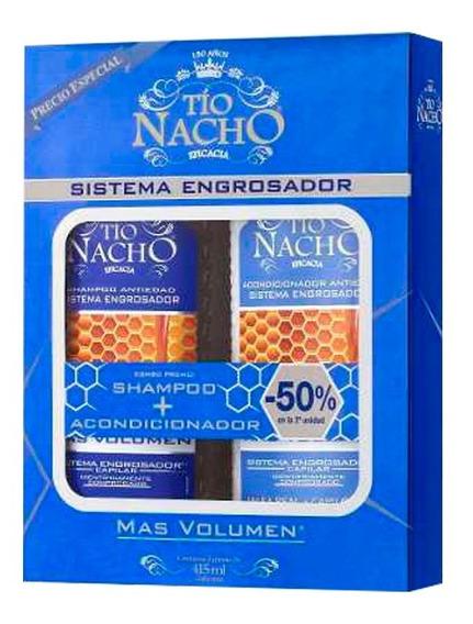 Tio Nacho Engrosador Combo Shampoo + Acondicionador