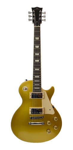 Guitarra Michael Les Paul Gm730n Gd Gold Top