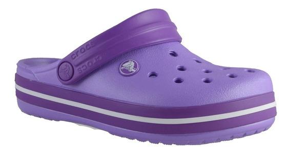 Crocs Crocband Niños Lila