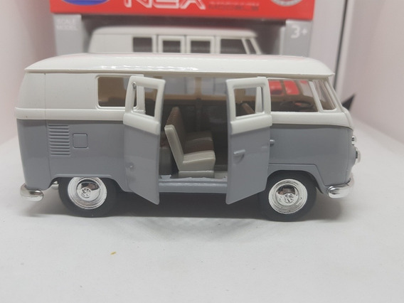 Volkswagen Kombi Welly No Inolvidables Gris 1:32