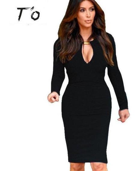 Vestido Modelo Kim Kardashian - Vestidos Femeninos com o
