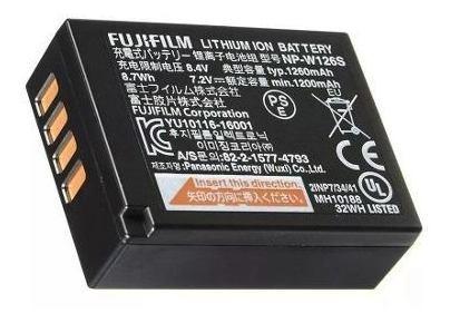 Bateria Fujifilm Np-w126s Original Para Linha X