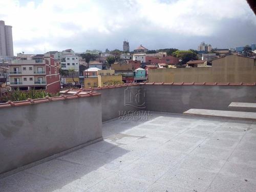Cobertura Residencial À Venda, Vila Curuçá, Santo André - Co2145. - Co2145