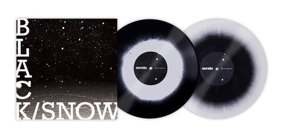Time Code Serato Raro Black/snow Limitado 12