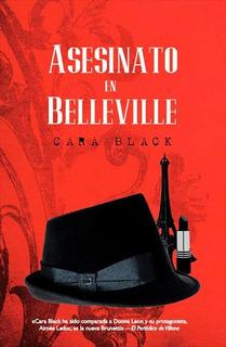 Libro: Asesinato En Belleville Original, Como Nuevo.