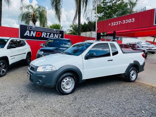 Fiat Strada Hard Working 1.4 Branco 2020