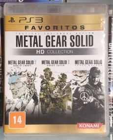 Metal Gear Solid Collection® Ps3 Mídia Física