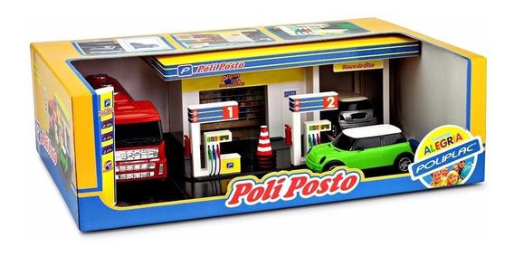 Miniatura Posto Combustivel Maquete Diorama Automovel Carro
