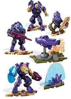 Mega Construx Set De Juego Halo Equipo De Combate Covenant