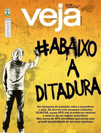 Revista Veja, Ed. 2664, A 52, N. 50, 11 De Dezembro De 2019.