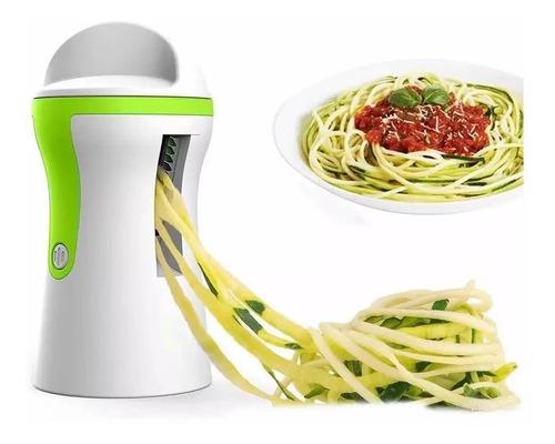 Imagem 1 de 10 de Cortador De Legumes Espiral Macarrão Espaguete Máquina Promo