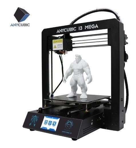 Impresora 3d Armada Steel Anycubic Mega I3 Rollo +1kg Gratis