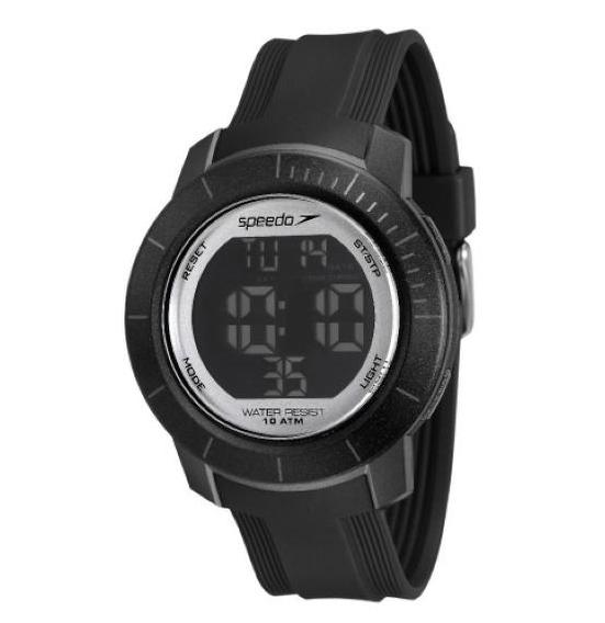 Relógio Unissex Speedo 80601g0evnp1 Preto