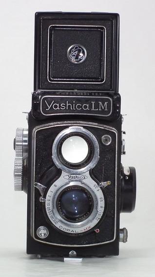 Yashica Lm 6x6 - Modelo Premium - Novíssima - Tudo Funciona