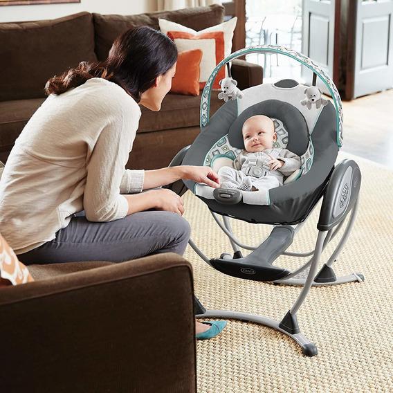 Glider Lx Gliding Baby Swing Cadeira Balanço