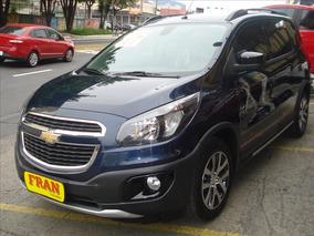Chevrolet Spin Activ Automático Motor 1.8 2017 Azul