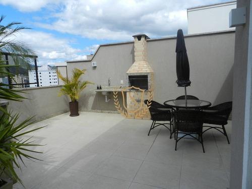 Cobertura À Venda, 80 M² Por R$ 850.000,00 - Agriões - Teresópolis/rj - Co0019