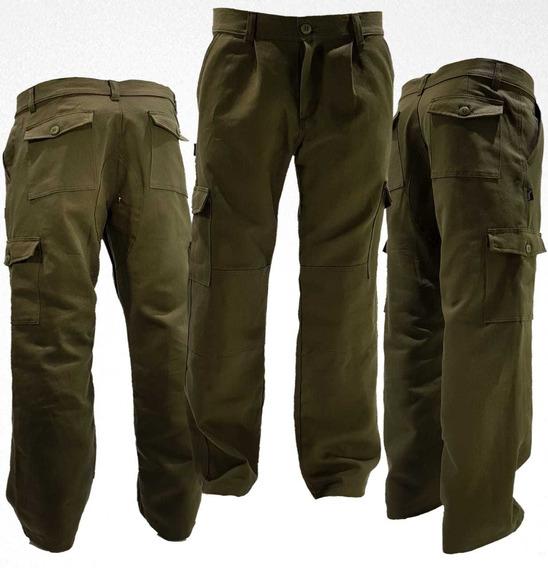 3 Pantalon Cargo Reforz Linco El Mejor Del Mercado T.40-48