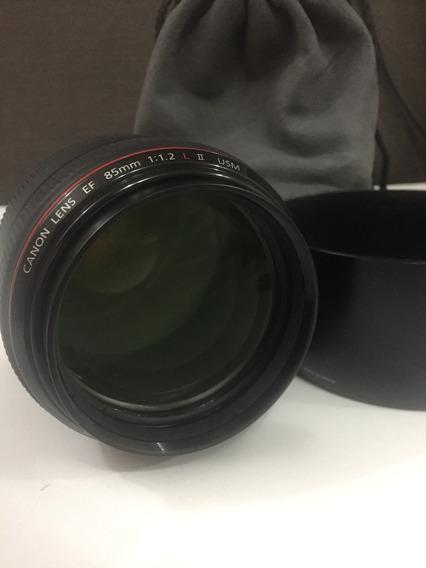 Lente Canon Ef 85mm, 1.2 L