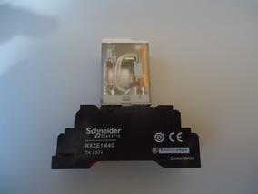 Relé Schneider Rxmrlb2p7 1220v 5a Com Base Schneider