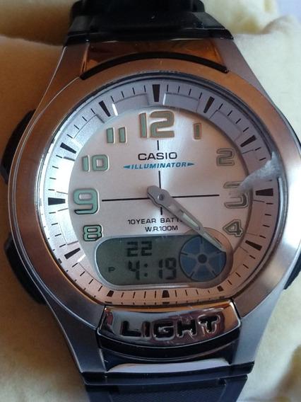 Relógio Casio Telememo 100m Original