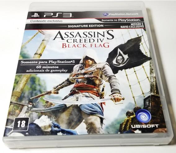Jogo Ps3 Assassins Creed 4 Black Flag ( Excelente Estado!)