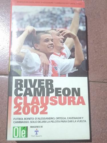 Vhs River Campeón Clausura 2002