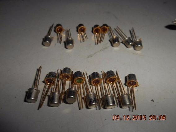 Transistor 2sc136/ecg123a Lote C/21 (691)