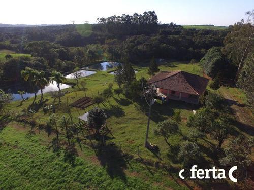 Imagem 1 de 15 de Chacara Com Casa - Lagoa Grande - Ref: 386 - V-386