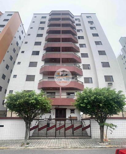 Imagem 1 de 30 de Apartamento À Venda No Bairro Ocian - Praia Grande/sp - 349