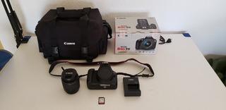 Cámara Canon Eos Rebel T6 (wi-fi/nfc) + Accesorios !oferta!