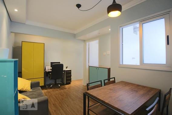 Apartamento No 11º Andar Mobiliado Com 1 Dormitório E 1 Garagem - Id: 892960219 - 260219