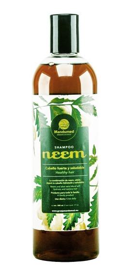 5 Shampoos Neem:caspa,piojos,crecimiento,ceborrea,100%naturl