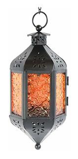 Vela Lanterns Farol Marroquí Colgante De