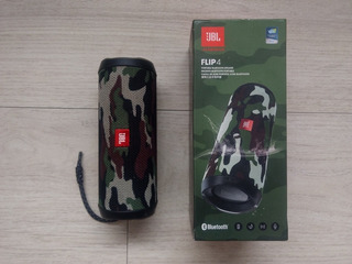 Jbl Flip 4 Camuflage Usado Oportunidad Leer Descripción.