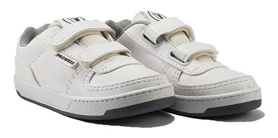 Zapatillas Deportivas Colegial Con Abrojo Velcro 29 Al 35