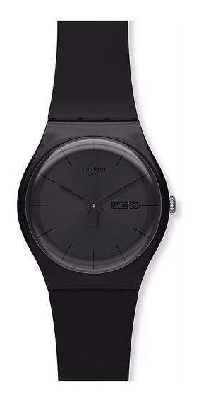 Relógio Swatch Black Rebel Suob702