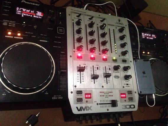 Cdj 350 ( Par ) + Mixer Vmx 300