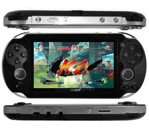 Video Game Portatil P3000 Jogos Videos Musicas C/fone