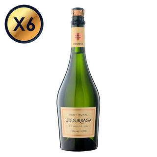 Espumante Undurraga Brut Royal 750cc - Pack 6 Botellas