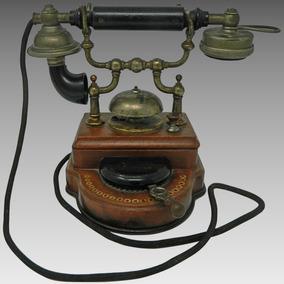 Antiguo Raro Teléfono L.m. Ericsson Modelo Ha Suecia