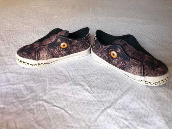 Zapatillas Planchas Dinosaurio Niños Entre 2 O 3 Años