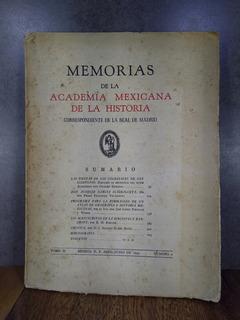 L1757 Memorias De La Academia Mexicana De La Historia Tomo 2