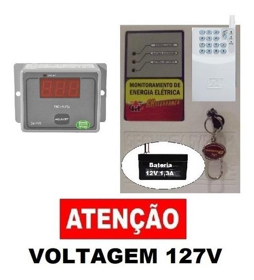 Alarme Gsm Falta Energia Elétrica + Alteração Temperatura