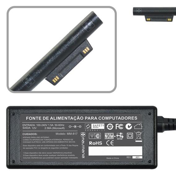 Fonte Carregador P/ Microsoft Surface Pro3 Tablet I3 12v 817