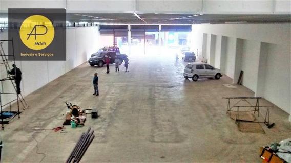 Galpão Comercial Para Locação, Centro, Suzano. - Ga0007