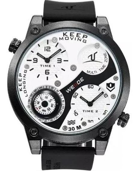 Relógio Masculino Weide Barato Garantia Nota A2220