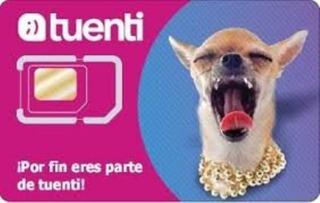 Chip Tuenti 2,30 Movistar 1,90 Cnt 1,40 Claro 1,80 Jo